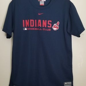 Men's Nike Indians Baseball Club Top T5-67